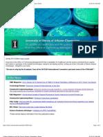 U Illinois Healthcare and Life Sciences Update | e-newsletter | Illinois