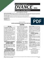 Advance 360A Dual Choice Ant Stations Label - EPA# 499-496 -- 1-1-11