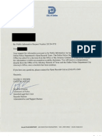 DPD 1st Response to FOIA Submitted by Collette Flanagan
