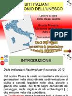 I siti italiani dell'UNESCO