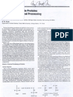 Chemical Changes in Proteins Produced by Thermal Processing