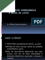 Monitorização+Hemodinamica
