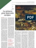 La primera gran depresión europea