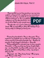 Maalaala Mo Kaya Part II