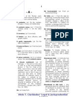 Atty. Alvin Claridades' Law Dictionary 3rd Edition (2013)