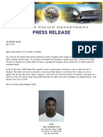 Anaheim Police Department press release, May 29, 2013