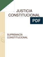 JUSTICIA CONSTITUCIONAL