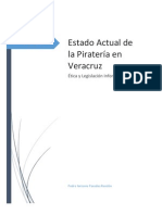 Estado Actual de La Pirateria en Veracruz
