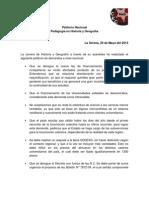 Petitorio HISTOGEO Nacional