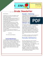 3rd Grade April Newsletter