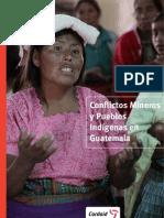 Conflictos mineros y pueblos indígenas en Guatemala