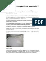 Reparación de monitor lcd con leds
