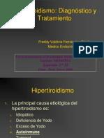 Hipertiroidismo Dx - Tto