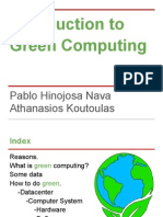 Introduction to Green Computing