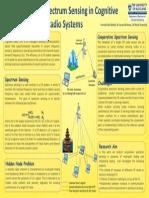 Spectrum Sensing Poster