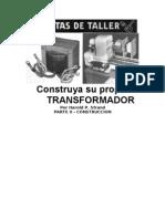 Construya Su Propio TRANSFORMADOR