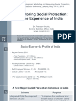 Day 3 Session 3 Country Experience on Monitoring Social Protection, Presentation of India