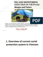Day 1 Session 3 Country Experience on Monitoring Social Protection, Presentation of Viet Nam