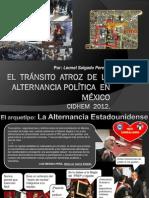 el tránsito atroz de la alternancia politica en México