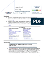 DHS Daily Report 2009-04-20