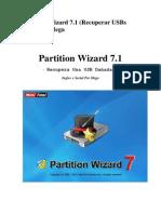 Partition Wizard 7 Recuperar USBs Dañadas