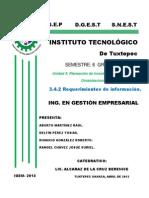 investigacion teorica de 3.4.2 Requerimientos de la informacion.docx