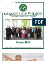 Leadership Wilson 2013