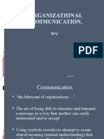 Communication in Organization UL