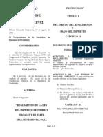 A. g. Nro. 737-92 Reg. Ley Tf y Pepp x