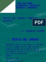 TECNICA DEL LEGRADO.ppt