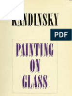 Vasily Kandinsky Painting on Glass Hinterglasmalerei Anniversary Exhibition -1966