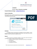Informática de Concursos - Internet Explorer 10 - 2013 - teoria + 99 questões www.informaticadeconcursos.com.br