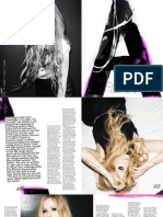 Avril Awakens - Nylon cover story June/July 2013 on Avril Lavigne