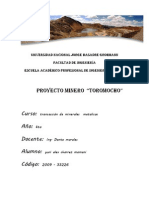 Proyecto Minero Toromocho Legal