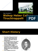 Bishop Heber College, Tiruchirappalli