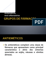 GRUPOS DE FÁRMACOS