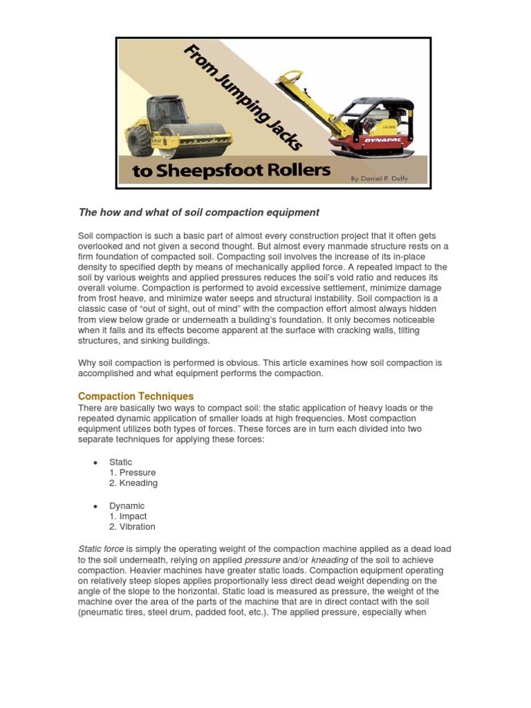 grading contractor-compactor pdf | Soil | Density