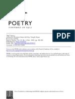 Hesse - Bad Poetry