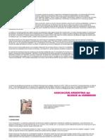 Manual de Manposreria de La Asociacion de Argentina