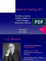 Presidents of roaring 20's Final part two