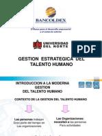 2368 Gestion Del Recurso Humano - UNINORTE II 2010