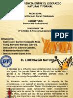 Liderazgo Natural y Formal f.s