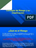Concepto de Riesgo y su Clasificación