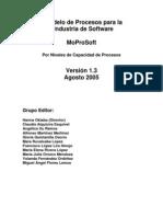 V 1.3 MoProSoft Por Niveles de Capacidad de Procesos