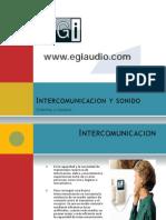 Intercomunicacion y Sonido