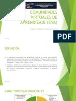 Comunidades Virtuales de Aprendizaje (Cva)