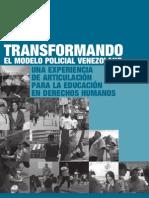 Transformando El Modelo Policial Venezolano