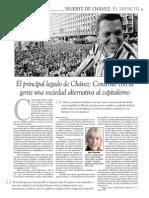 El Principal Legado de Chavez. Martha Harnecker