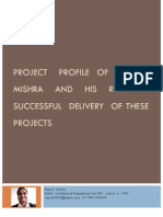 Brief Review of Notable Projects in Which Rajnish1121
