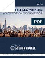 Jobs for All New Yorkers, Growth for All Neighborhoods